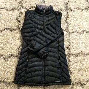 LL Bean XSP puffer jacket